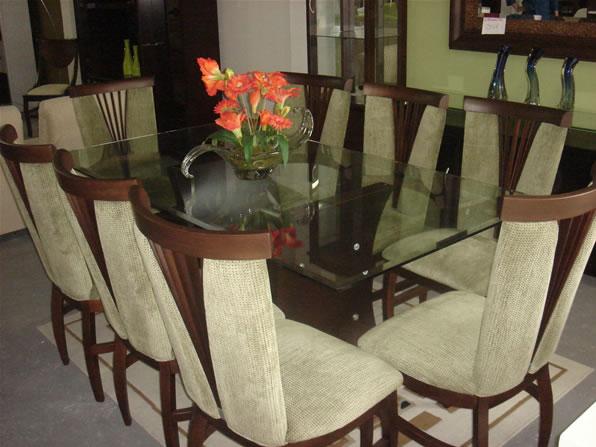 Jogo De Sala De Jantar Em Madeira ~  cadeiras em madeira, disponível em várias cores de acento e madeira
